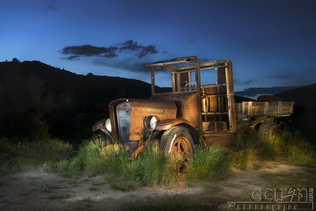 CarynEsplin-BannackGhostTown-Old Interntational-Light Painting
