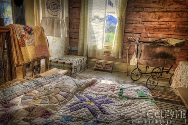 Bannack Ghost Town - Caryn Esplin - Docs Bedroom