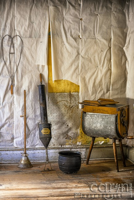 Bannack Ghost Town - Caryn Esplin - Kitchen Wall