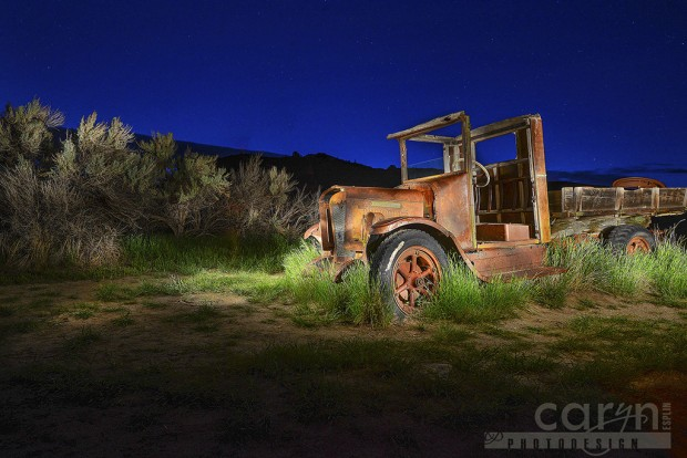 Old Interntational Truck - Bannack Ghost Town, Montana - Caryn Esplin