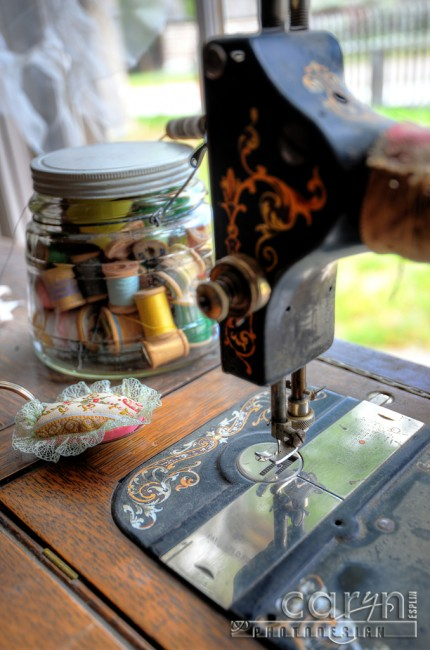 Bannack Ghost Town - Caryn Esplin - Sewing Machine