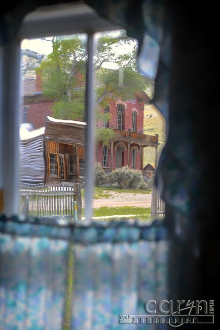 Bannack Ghost Town - Caryn Esplin - Window View