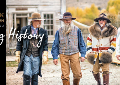 Bannack Living History Tribute: Series of 8 Posts