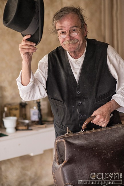 Bannack Ghost Town, Montana - Living History - Doc's Rounds - Pano