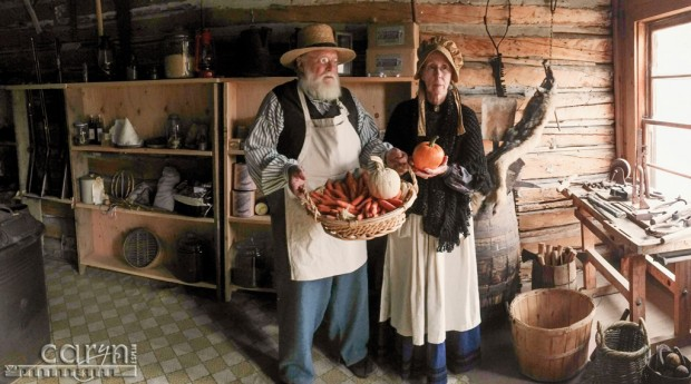 Bannack Ghost Town, Montana - Living History - General Store - Pano
