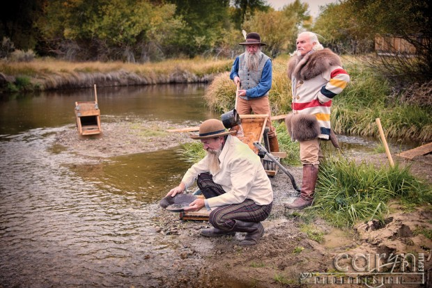 Panning for Gold - Bannack Living History - Caryn Esplin