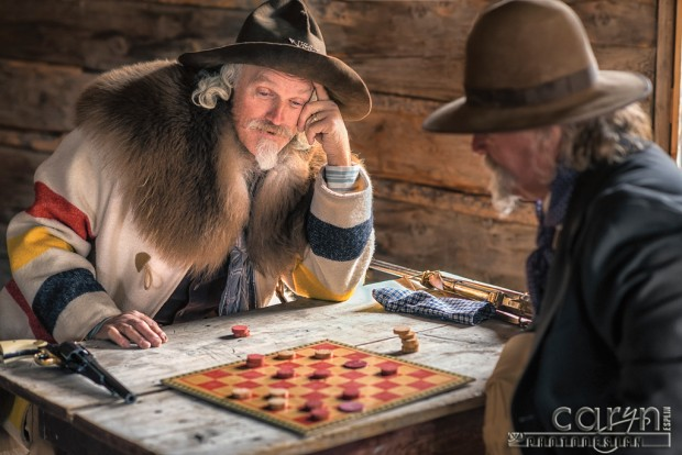 Bannack Living History - Checker Duel  by Caryn Esplin