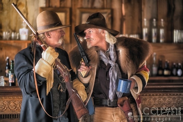 Bannack Living History - Saloon Fight  by Caryn Esplin