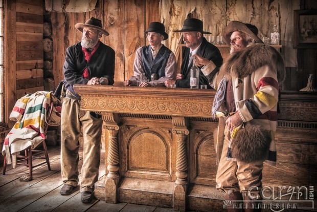 Bannack Living History - Saloon portrait by Caryn Esplin