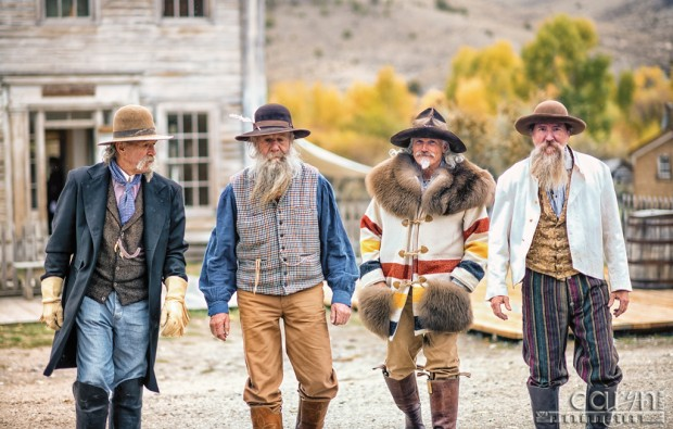 Strolling the Old Bannack Main Street - Living History - Caryn Esplin