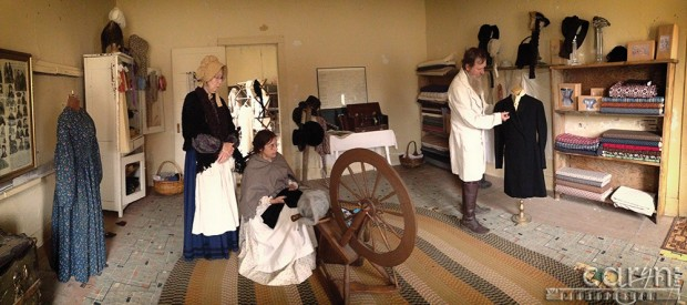 Bannack Ghost Town, Montana - Living History - Tailor's Shop - Pano