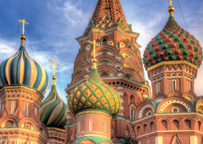 St. Basil's Cathedral – Moscow, Russia