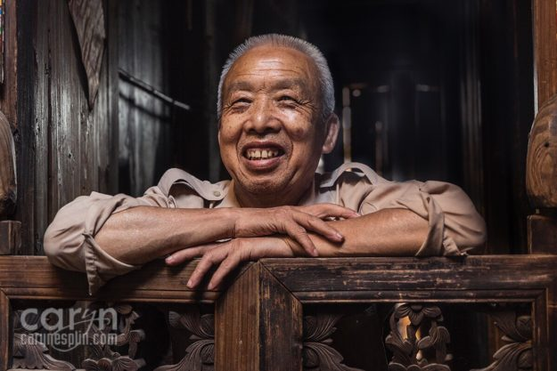 Mr Cho, Daxu China, Guilin, Typical Chinese Home, Faces and Places of China, Lifestyle, Environmental Portraiture