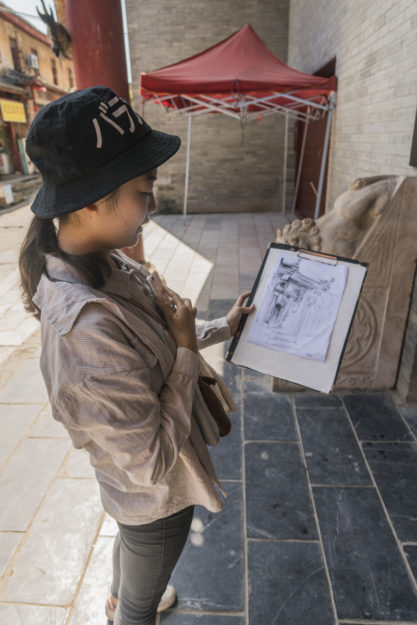 Guilin, China, Daxu Ancient Town, Faces and Places of China, Game, Art Club, Sketching