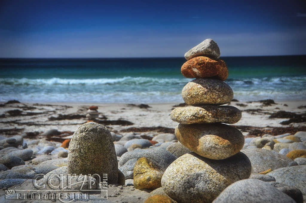 Stone Cairn 1 Rock Stack Monterey Ca 17 Mile Drive