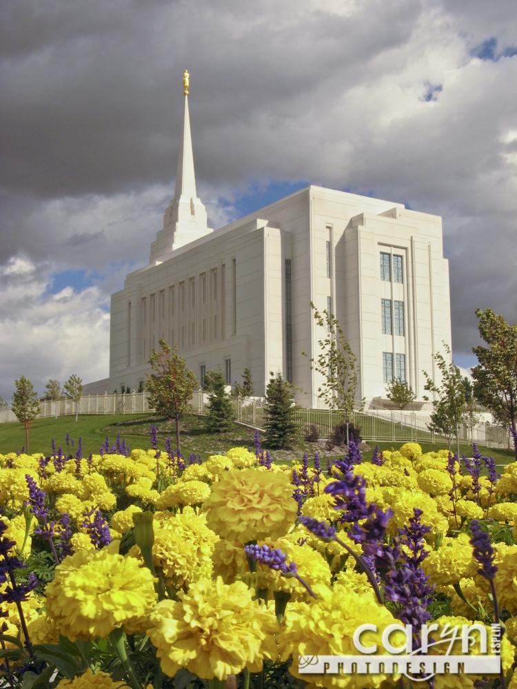 Countdown: Top 50 Summer Pics: #5 - Rexburg LDS Temple ...